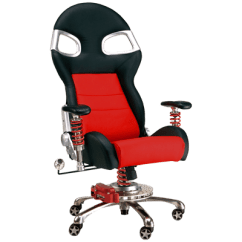 Racing Desk Chair Low Profile Beach Chairs Inspired Furniture Pitsstop Custom Embroidery