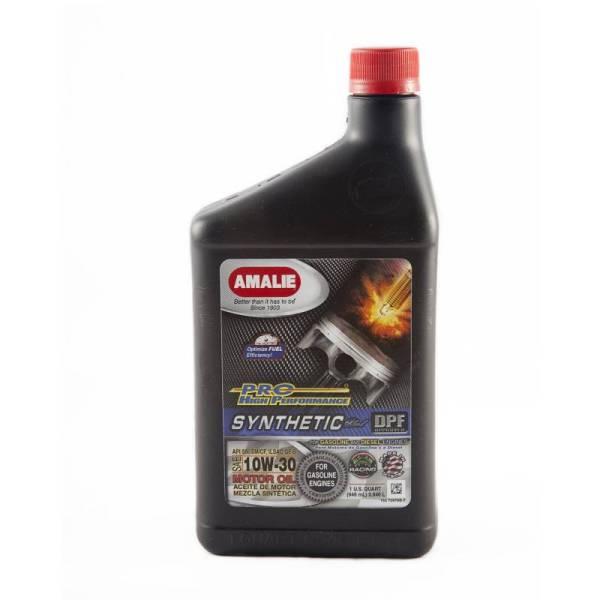 Amalie Pro High Performance Synthetic Blend Motor Oil - 10w-30 1 Qt. Bottle Case Of 12 160