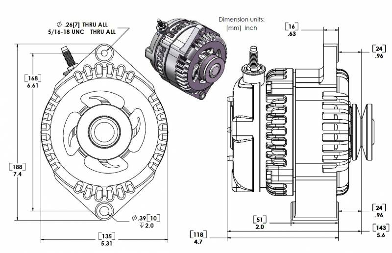 MechMan Alternators 7127170