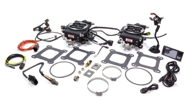 FiTech Go EFI 2x4 Fuel Injection Throttle Body Square Bore