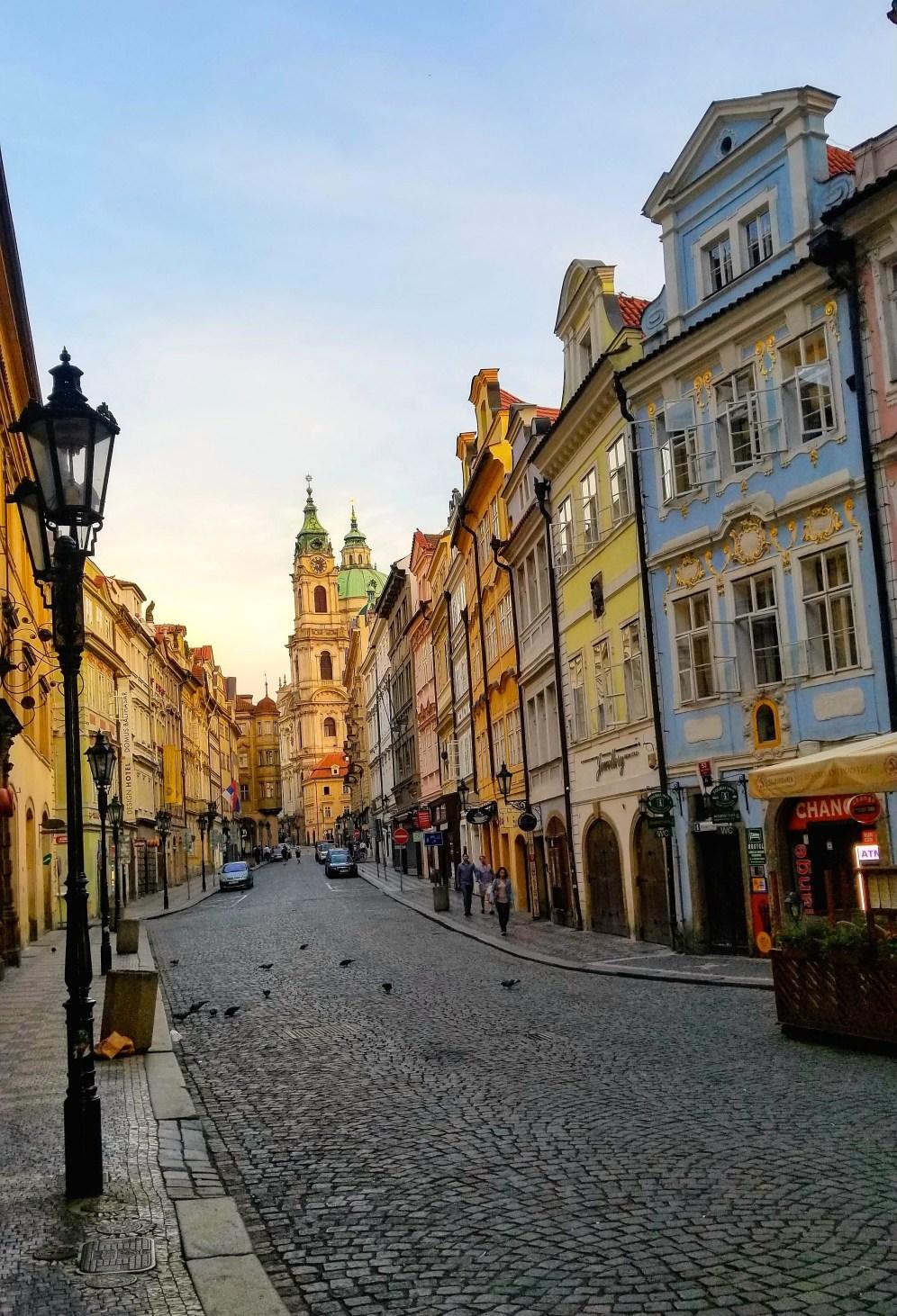 Praha 1 street pic