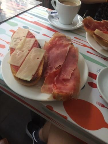 Tapas-breakfast