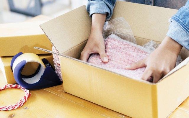 Postal Annex Packs a Pretty Parcel