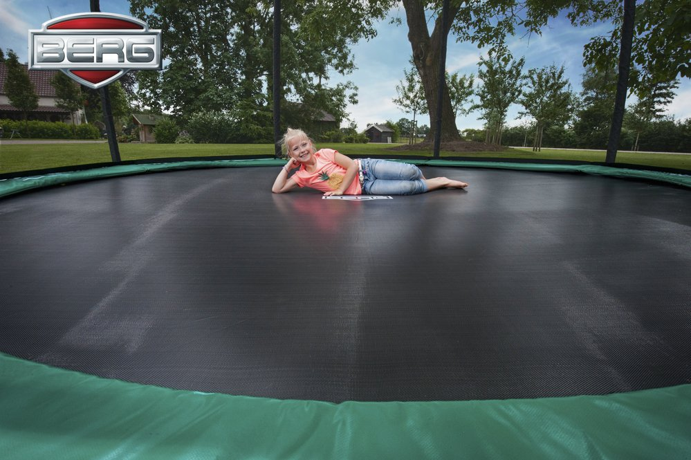BERG In Ground Trampoline Champion Pitter Patter Toys