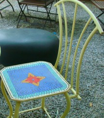 Patio- Of Colourful Planters And Quirky Garden Furniture