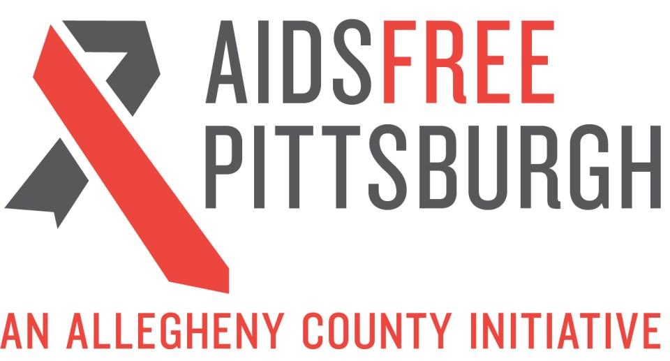 aids free Pittsburgh logo