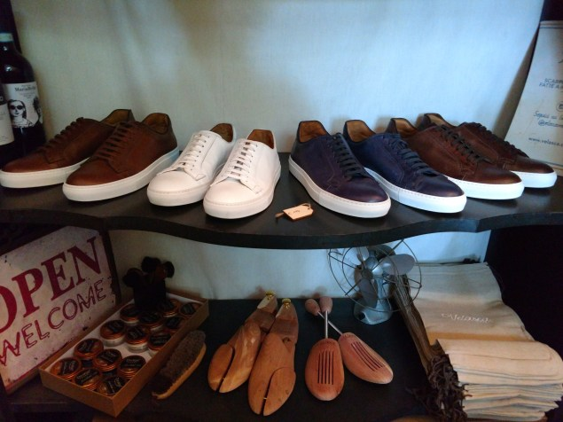 A line of street wear shoes from Velasca