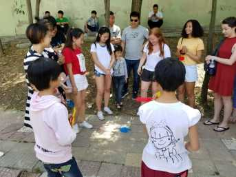 Games at the Children's Village