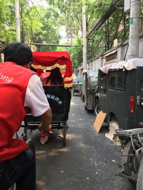 Rickshaw ride through the Hutong