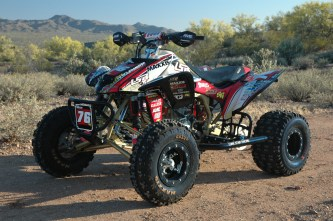 Honda TRX450R Build from Ryan Waldo – Pit Traffic