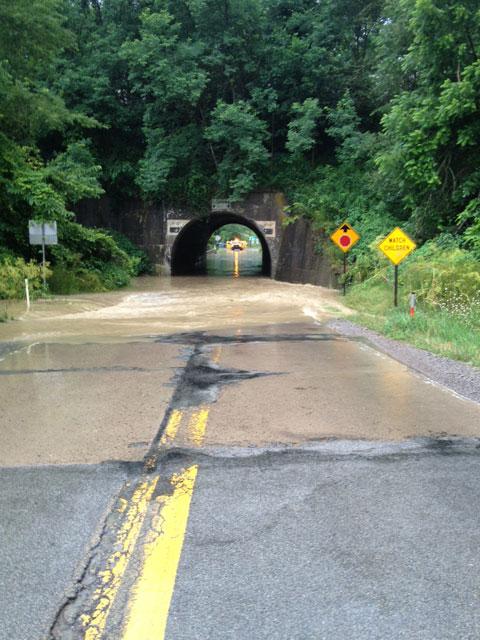 2013 Clinton Flooding July