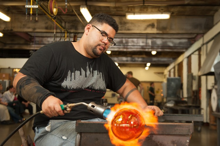 Pittsburgh Glass Center's Hot Wheels Glassblowing Demonstrations