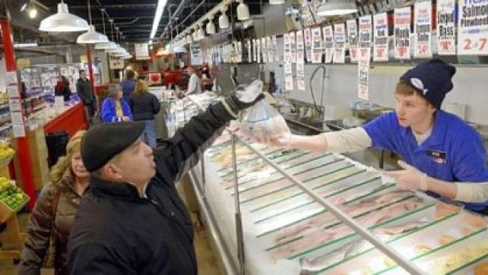 5 places to take out of towners in the strip district for Wholey s fish market