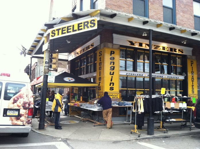 Have Pittsburgh strip district list of stores that