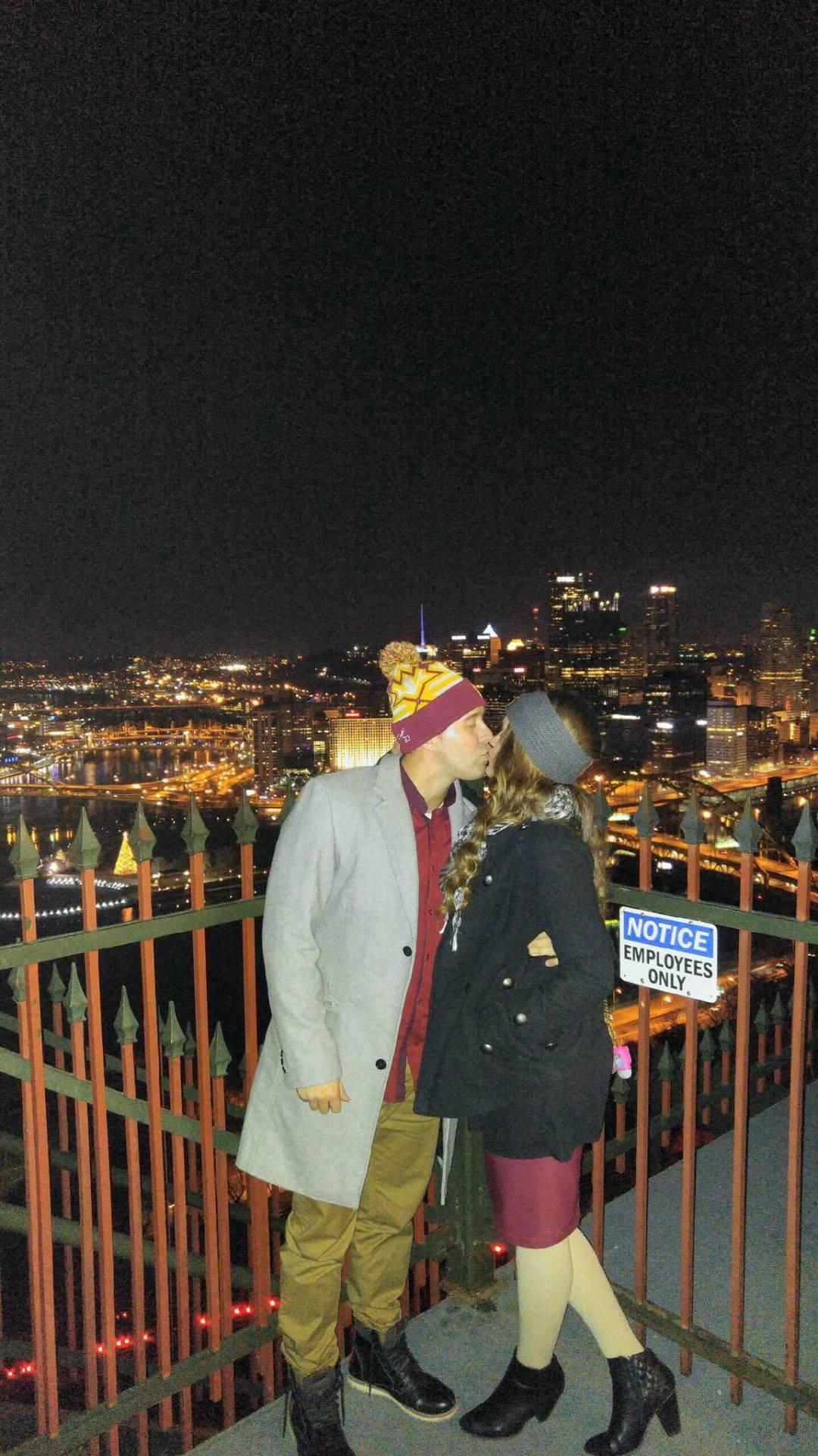 Pittsburgh Beautiful Kiss From Mt. Washington
