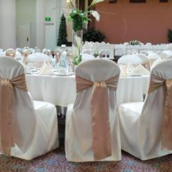 Champagne Banquet Chair Covers Hickory Sofa Beds Pittsburgh Services