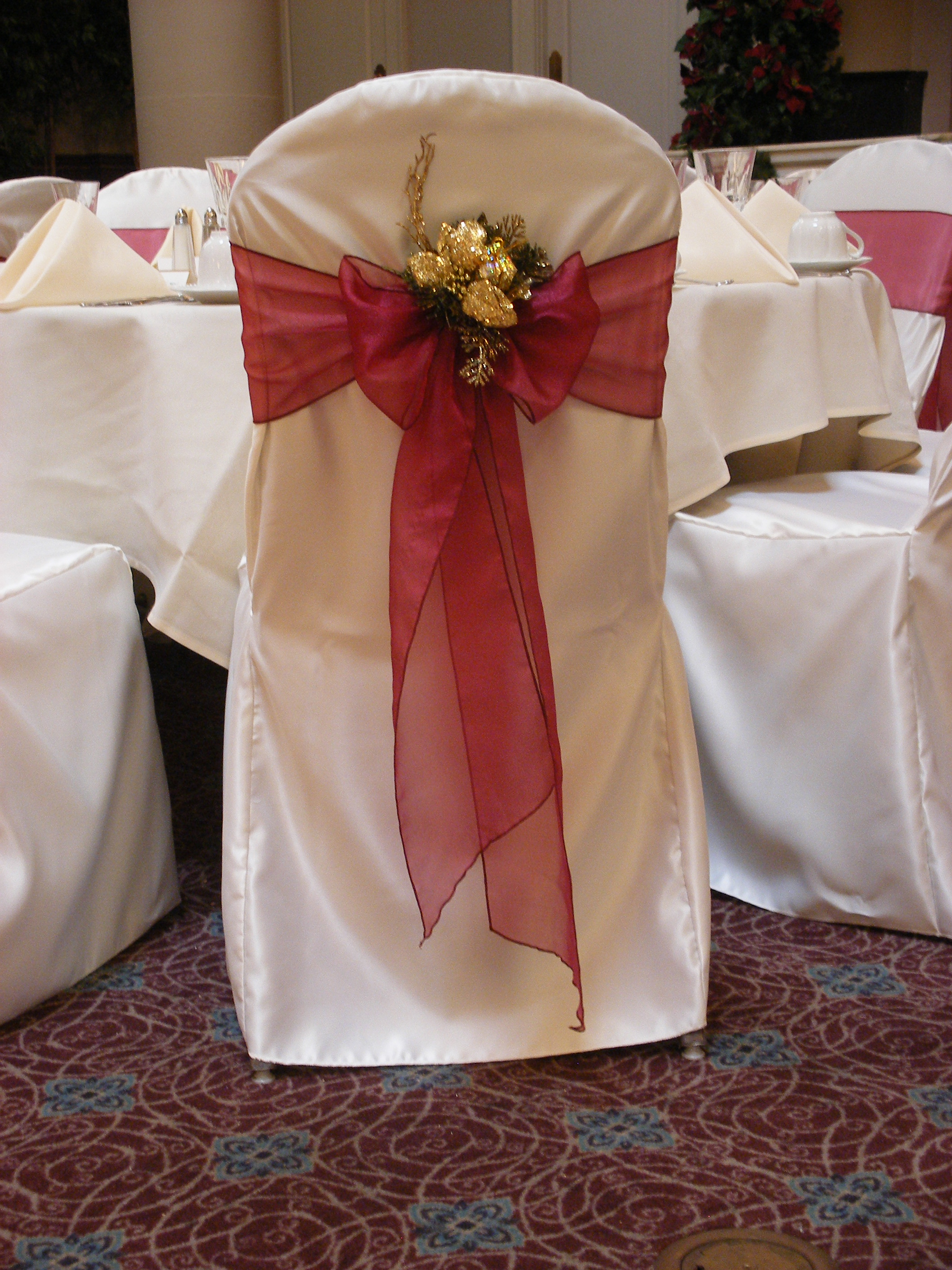 christmas wedding chair covers ikea cover replacement pittsburgh services