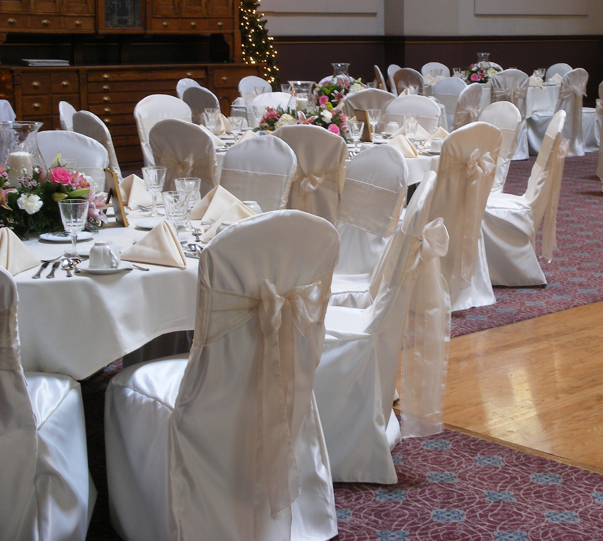 chair covers and sashes hire mi new design group pittsburgh services another classic ivory with champagne