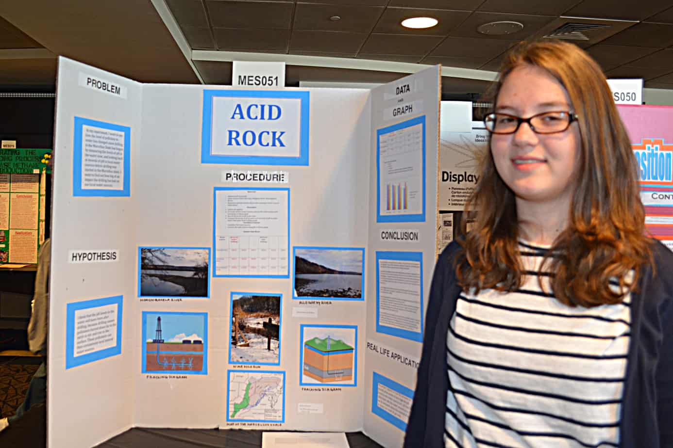 County Health Department Honors Students For Science Fair