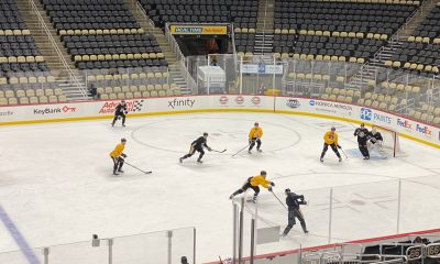 Pittsburgh Penguins Morning Skate