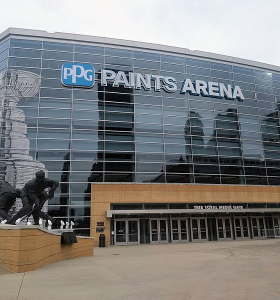 NHL Hub Cities Pittsburgh PPG Paints Arena
