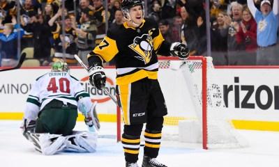 Penguins Game vs. Minnesota Wild Sidney Crosby