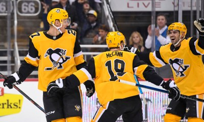 Penguins trade Nick Bjugstad, Jared McCann, Patric Hornqvist