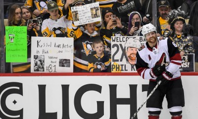 Pittsburgh Penguins score vs. Arizona Coyotes