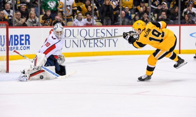 Pittsburgh Penguins Jared McCann vs. Braden Holtby Washington Capitals