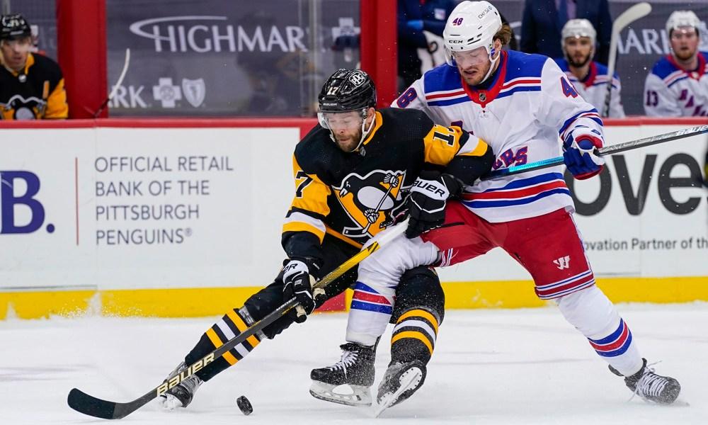 penguins rangers betting pick