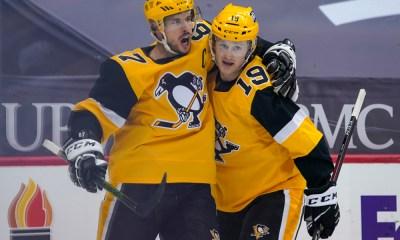 Pittsburgh Penguins Bryan Rust, Jared McCann