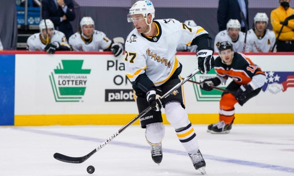 Pittsburgh Penguins Jeff Carter