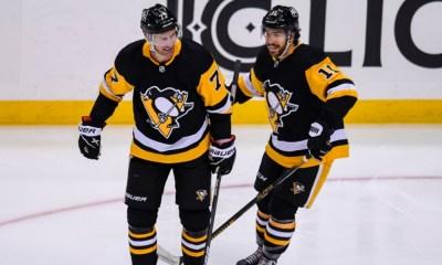 Pittsburgh Penguins Jeff Carter, Jared McCann