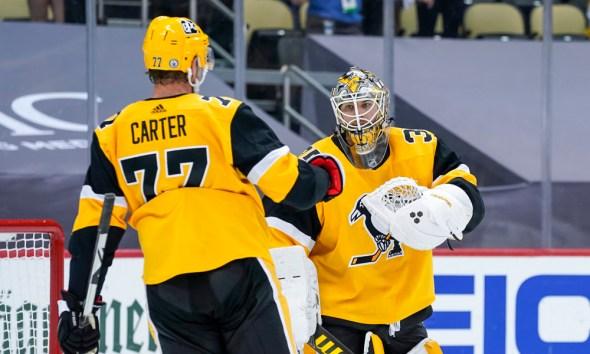 Pittsburgh Penguins, Jeff Carter, Tristan Jarry