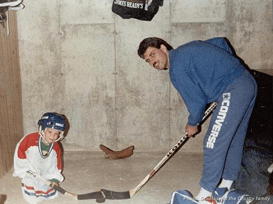 Sidney Crosby Childhood Photo