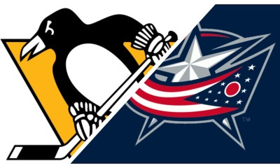 Pittsburgh Penguins logo vs. Columbus Blue Jackets logo