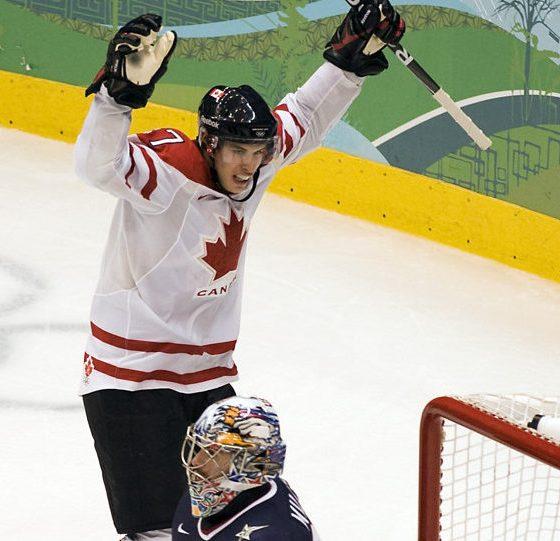 Pittsburgh Penguins Team Canada Sidney Crosby Golden Goal