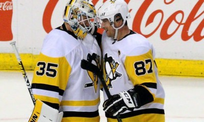 Pittsburgh Penguins, Tristan Jarry, Sidney Crosby
