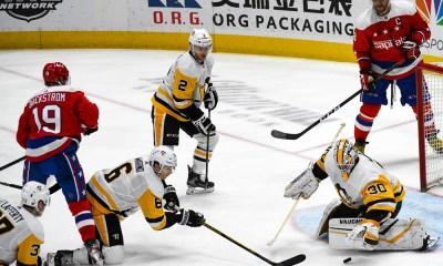 Pittsburgh Penguins John Marino, Matt Murray