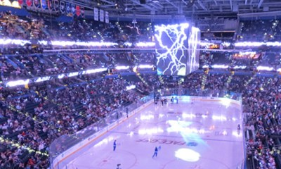 Penguins Game in Tampa Bay Amelia Arena