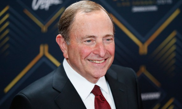 NHL return NHL Commissioner Gary Bettman