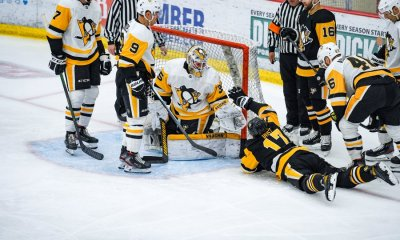 Pittsburgh Penguins Bryan Rust Matt Murray; Photo Courtesy of Pittsburgh Penguins