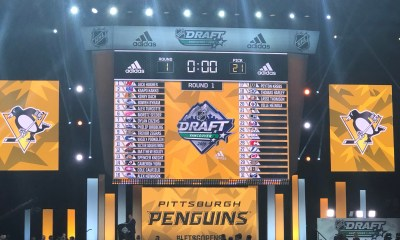 2020 NHL Draft Pittsburgh Penguins