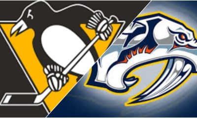 Pittsburgh Penguins Score vs. Nashville Predators