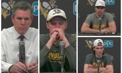 Pittsburgh Penguins, Mike Sullivan, Jake Guentzel, Cody Ceci, Mark Jankowski