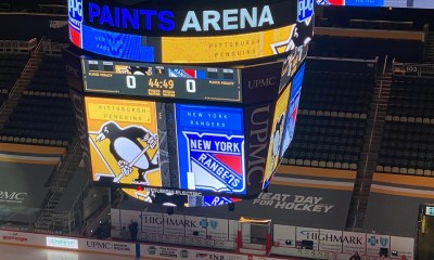 Pittsburgh Penguins game New York Rangers