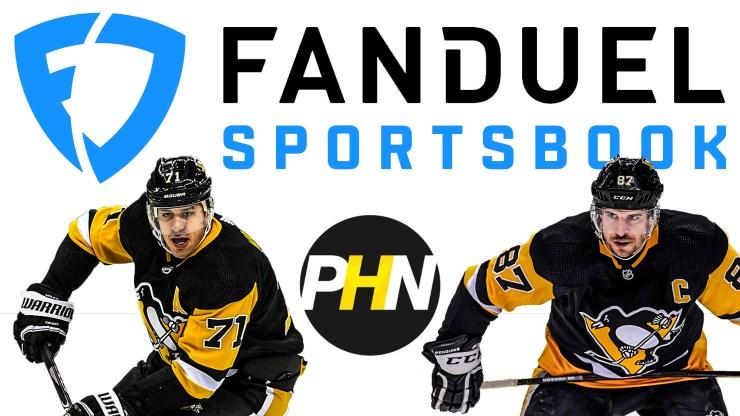 FanDuel Sportsbook, Pittsburgh Penguins, Odds, Player Futures, Sidney Crosby, Evgeni Malkin