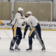 Erik Gudbranson teaches Brian Dumoulin to Fight