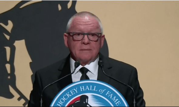 Penguins Trade Rumors Jim Rutherford Hall of Fame Speech