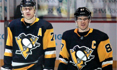 Pittsburgh Penguins lines Sidney Crosby and Evgeni Malkin